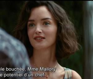 """Charlotte Le Bon actrice dans le film produit par Steven Spielberg """"Les Rcettes du bonheur"""""""
