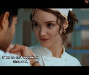 """Charlotte Le Bon dans le long-métrage produit par Steven Spielberg """"Les Recettes du bonheur"""""""