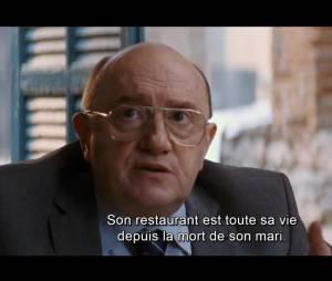 """Michel Blanc dans le film produit par Steven Spielberg et Oprah Winfrey """"Les Recettes du bonheur"""""""
