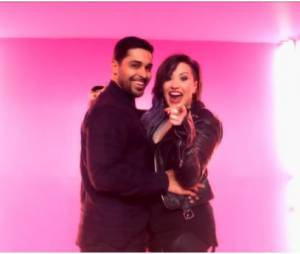 Demi Lovato et Wilmer Valderrama dans le clip de Really Don't Care
