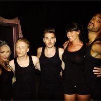 Astrid Poubel, Anthony Lyricos, Florine... sur le tournage de Total Blackout