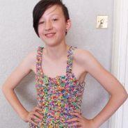 Une robe en Rainbow Loom vendue... 215 000 euros !