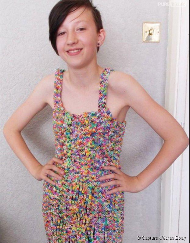 Rainbow Loom : une Anglaise vend une robe à 215 000 euros sur eBay