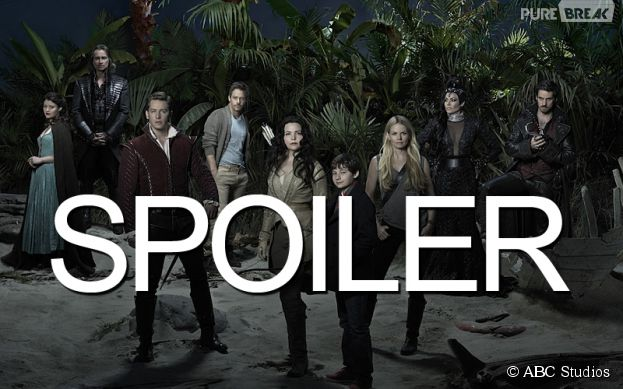 Once Upon a Time saison 4 : Emma en famille sur des photos de tournage