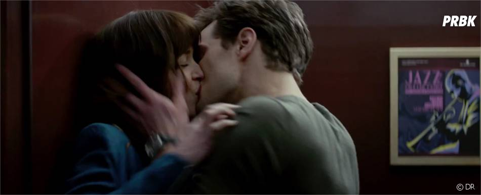 Fifty Shades of Grey : Dakota Johnson et Jamie Dornan dans la bande-annonce
