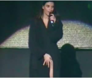 Laura Pausini : moment de solitude en plein concert