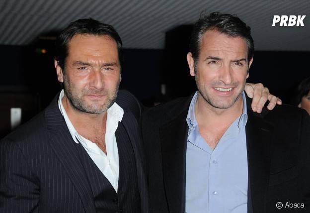 Jean Dujardin et Gilles Lellouche : les Brad Pitt et George Clooney français