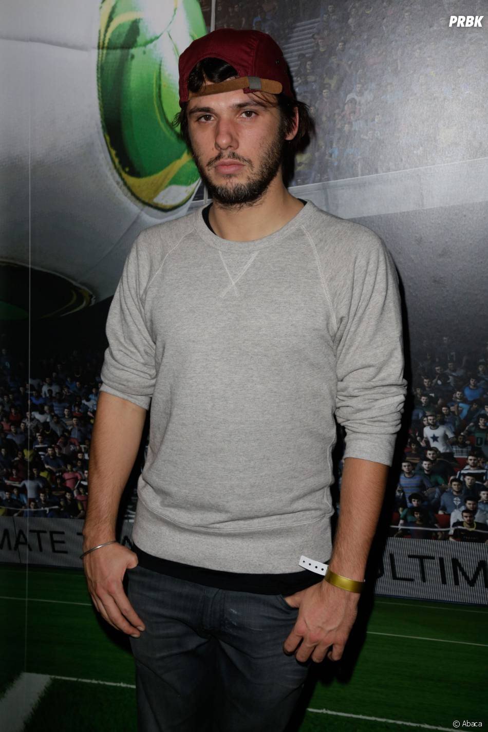 Orelsan à la soirée de lancement de FIFA 14 le 23 septembre 2013