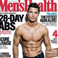 Cristiano Ronaldo : ses abdos impressionnants exhibés en couv' de Men's Health