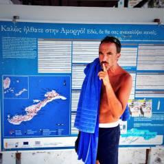 Nikos Aliagas : l'album photos de ses vacances en Grèce