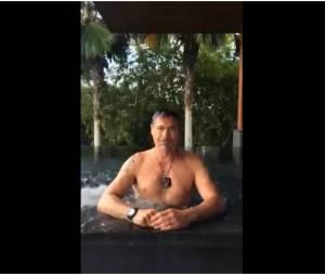 Robert Downey Jr tente l'Ice Bucket Challenge
