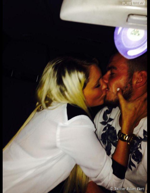Aurélie Dotremont et Julien Bert : bisou sur Twitter pour confirmer leur couple