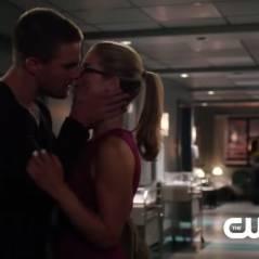 Arrow saison 3 : premier baiser entre Oliver et Felicity dans le teaser