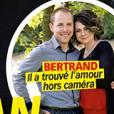Bertrand (L'Amour est dans le pré) en couple avec Marie, en Une du magazine Télé Loisirs du 1er septembre 2014