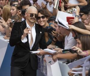 James Franco chauve au Festival du Film de Venise, le 5 septembre 2014