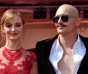 James Franco transformé au Festival du Film de Venise, le 5 septembre 2014