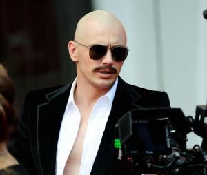 James Franco incroyablement transformé au Festival du Film de Venise, le 5 septembre 2014