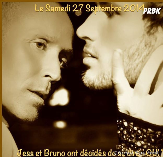 Bruno Vandelli annonce son mariage sur Facebook