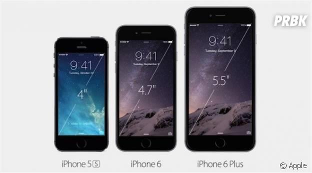 Apple : iPhone 6 et 6 Plus