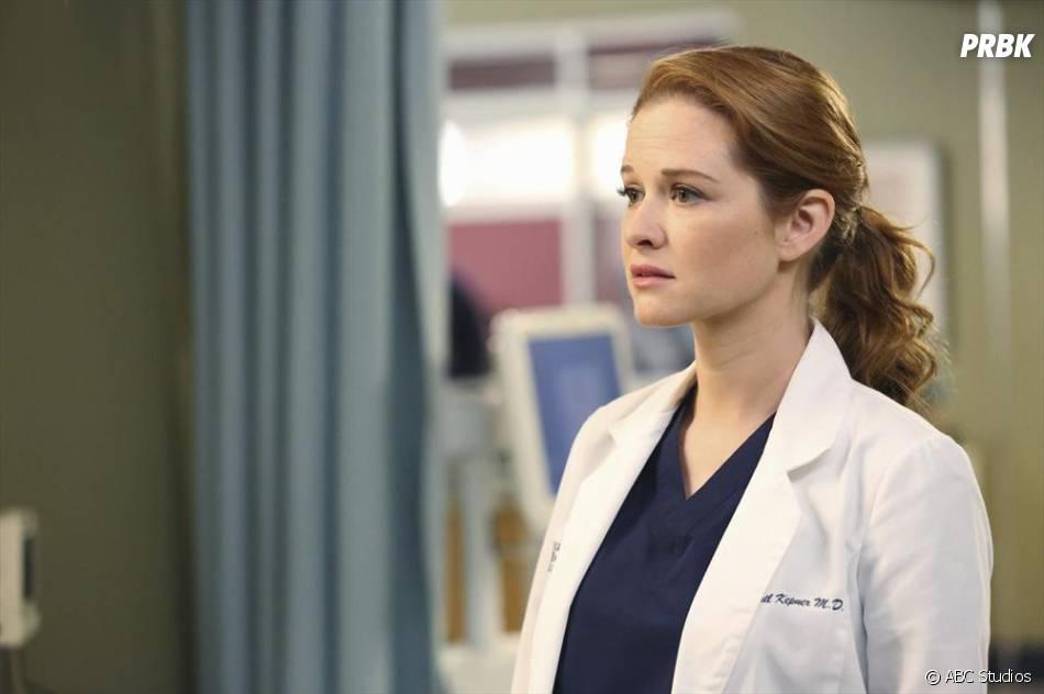 Grey's Anatomy saison 11, épisode 1 : Sarah Drew sur une photo