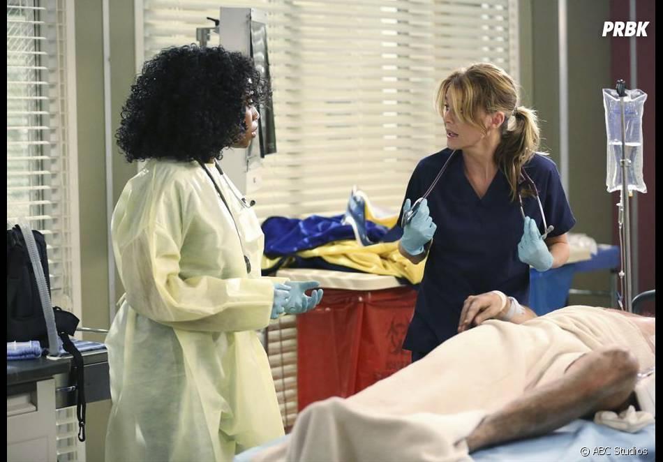 Grey's Anatomy saison 11, épisode 1 : Meredith et Stephanie sur une photo