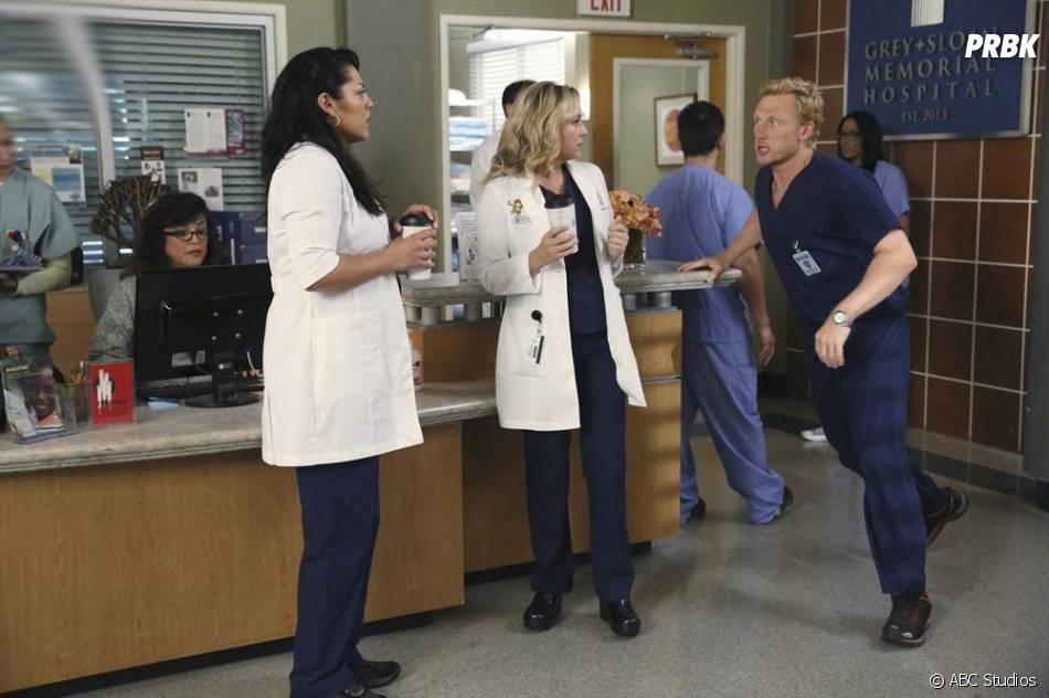 Grey's Anatomy saison 11, épisode 1 : Owen, Callie et Arizona sur une photo