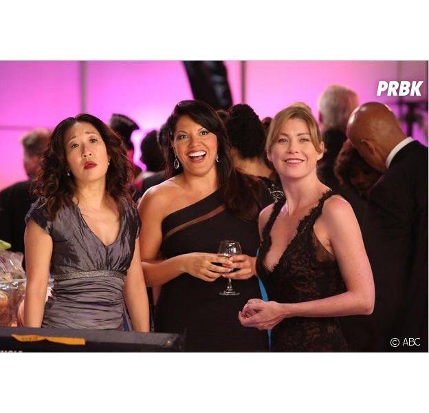 Ellen Pompeo dans Grey's Anatomy saison 10
