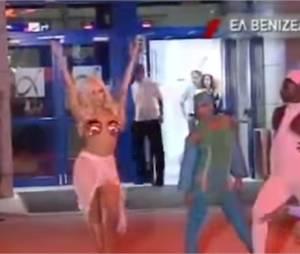 Lady Gaga : son arrivée un peu mégalo en Grèce le 17 septemnre 2014