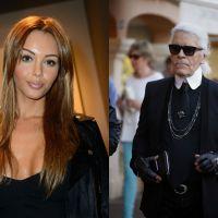 Nabilla Benattia : critiquée par Karl Lagerfeld, elle lui répond sur Twitter