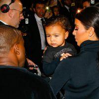 Kim Kardashian et Kanye West : baby North star du défilé Balenciaga à Paris