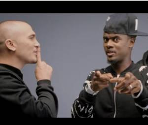 Maska et Black M dans le clip de Profiter de ma life