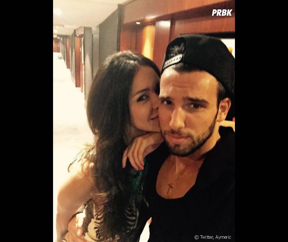 Secret Story 8 : Leila et Aymeric s'affichent amoureux sur Twitter