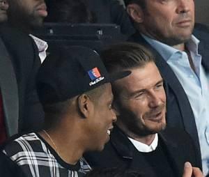 David Beckham explique à Jay Z et Beyoncé les règles du foot ?