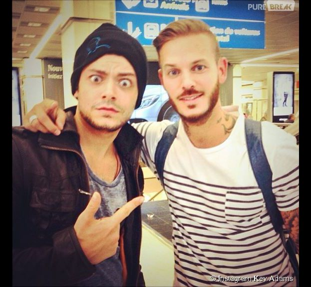 kev adams et m pokora sur instagram. Black Bedroom Furniture Sets. Home Design Ideas