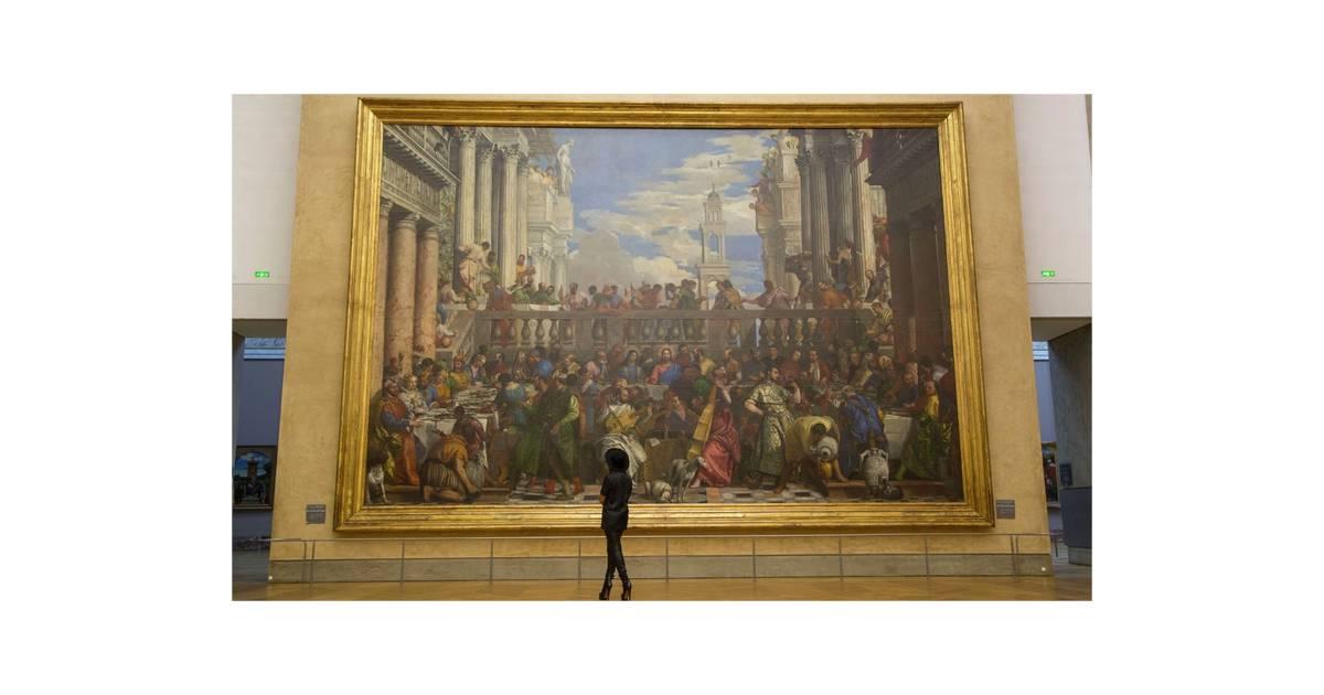 Beyoncé devant le tableau des Noces de Cana au Louvre - Purebreak