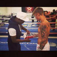 Justin Bieber : un cours de boxe avec... Floyd Mayweather