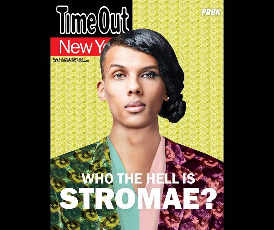 Stromae en Une du magazine américain Time Out