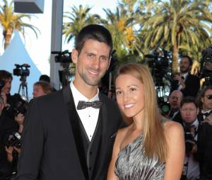 Novak Djokovic et sa belle Jelena Ristic au festival de Cannes 2012