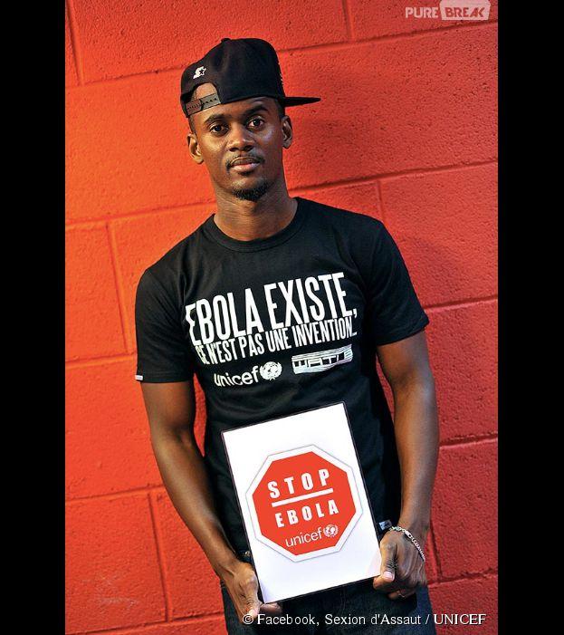 Sexion d'Assaut : Black M soutient l'UNICEF pour lutter contre Ebola