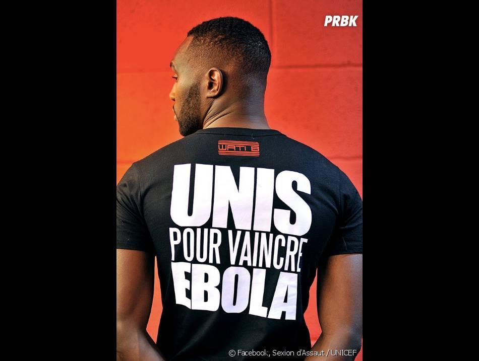 Abou Tall soutient l'UNICEF pour lutter contre Ebola