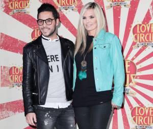Alban Bartoli et Claire Nevers à la première de Love Circus, le 28 octobre 2014, aux Folies Bergères
