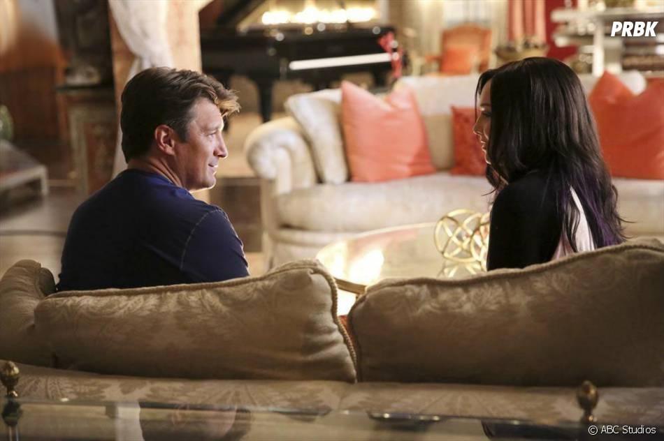 Castle saison 7, épisode 6 : Rick et Alexis sur une photo