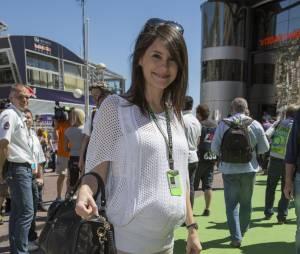 Marion Jollès  en mai 2013 lors de sa première grossesse