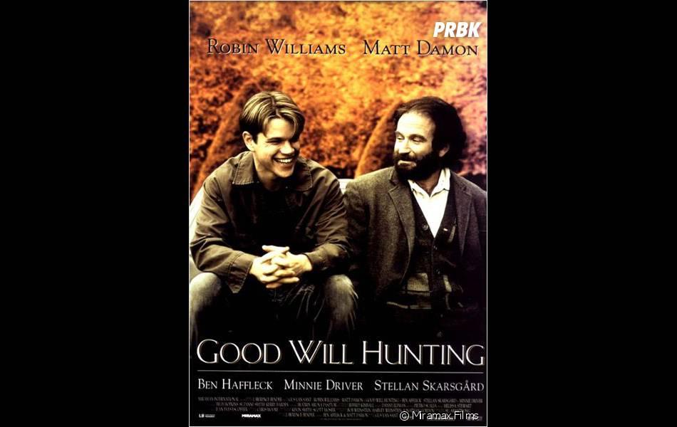 Will Hunting : l'affiche du film avec Matt Damon et Robin Williams