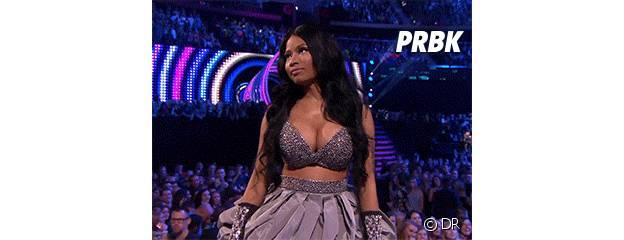 Nicki Minaj : son imposant décolleté façon animé