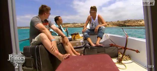 Les Princes de l'amour 2 : Charles, Arthur et Bastien font connaissance