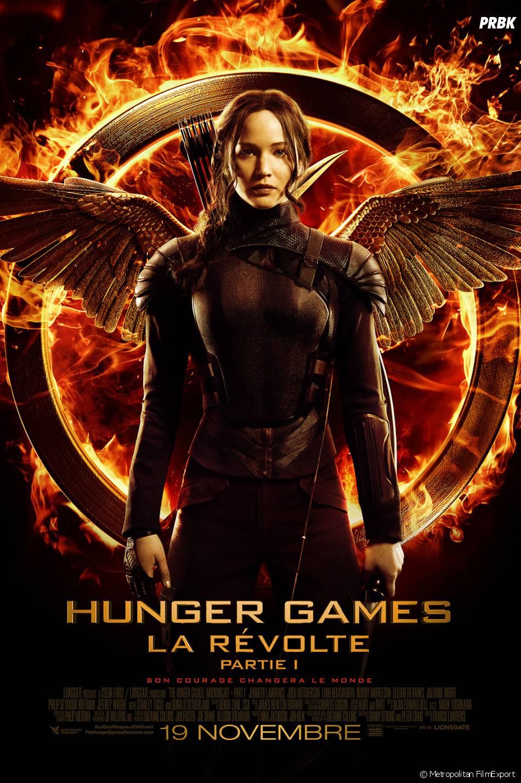 Hunger Games 3 : l'affiche avec Jennifer Lawrence