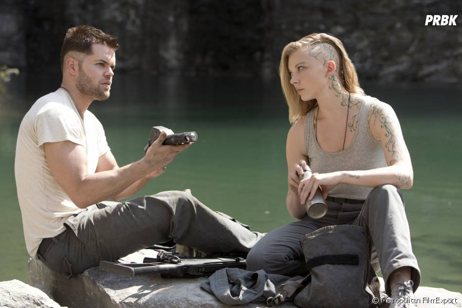 Hunger Games 3 : Wes Chatman et Natalie Dormer sur une photo