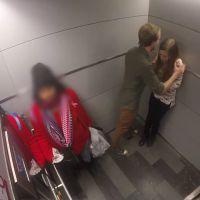 Une femme se fait agresser dans un ascenseur : l'expérience sociale choquante