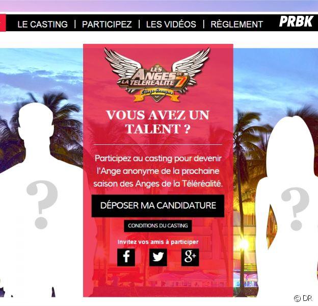 Les Anges de la télé-réalité 7 : le casting pour l'ange anonyme ouvert